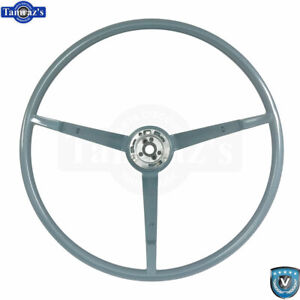1966 Ford Mustang Correct 15 Reproduction O e Style Steering Wheel Blue