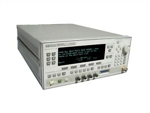 Hewlett Packard Hp 83640b Synthesized Swept signal Generator opt 001 002 006 008