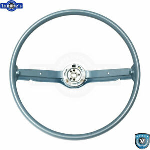 68 69 Ford Mustang Correct 15 Reproduction O e Style Steering Wheel Blue