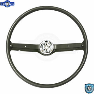 68 69 Ford Mustang Correct 15 Reproduction O e Style Steering Wheel Ivy Gold