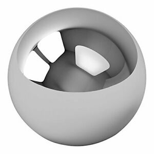 One Large 4 Inch Chrome Solid Steel Bearing Ball G100
