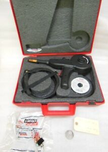 Lincoln Electric Magnum 100sg Welding Spool Gun W 3 Extra Tips Wire