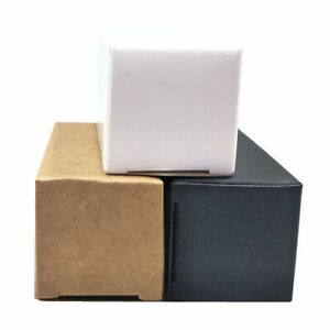 Assorted Colors Kraft Paper Box For Dropper Essential Oil Cosmetic Perfume Pack