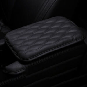 Universal Car Suv Pickup Armrest Pad Cover Center Console Pu Leather Cushion Pad