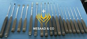 Synthes Orthopedic Anterior Spine Retractor Osteotome Curette Instruments Set A