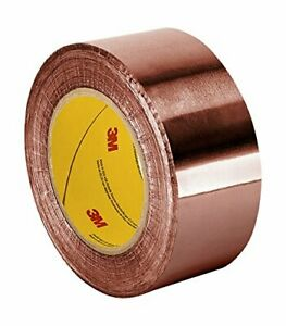 Tapecase Cfl 5a 4 X 36yd Copper Foil Tape With Non conductive Acrylic Adhesive