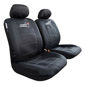 For Toyota Tacoma Seat Covers Trd 2003 2019 Waterproof Black Canvas Protectors