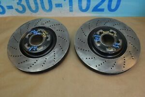 2014 W218 Mercedes Cls550 Front Left Right Brake Rotors Rotor 34mm Pair