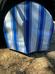 2 Custom Made 32 Inch Sunbrella Rv Tire Covers Quality Canvas