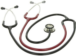 3m Littmann Classic Ii S e Teaching Stethoscope Black And Burgundy Tube 40