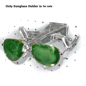 Clear Plastic Open Sunglass Holder For Pegboard Or Slatwall Case Of 25