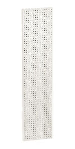 Plastic Pegboard Panels In White 13 5w X 60 H Inches Case Of 2