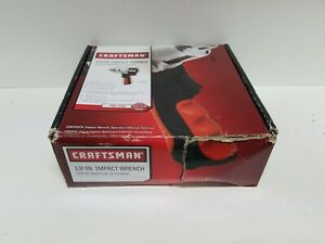 Open Box Craftsman 1 2 Inch Drive Tire Socket Air Impact Wrench Gun 875 16882