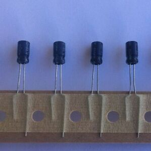 Elgen Electrolytic Capacitors 10uf 16vdc 2500 Pcs