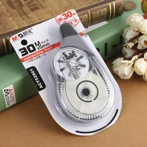 30m High Quality Roller Correction Tape White Out Stationery Student Office