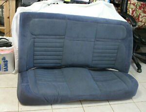1985 1988 Thunderbird Or Cougar Rear Back Cloth Bench Seat
