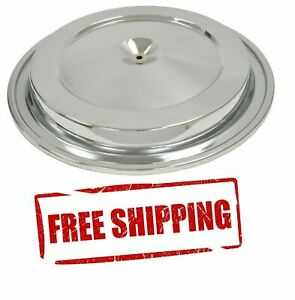 Chrome Corvette Air Cleaner Lid Cover O ring Rubber Seal Included New 76 81