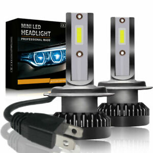 2x H7 800w 32000lm Led Headlight Kit Light Lamp Car Beam Bulb 6000k White Bright