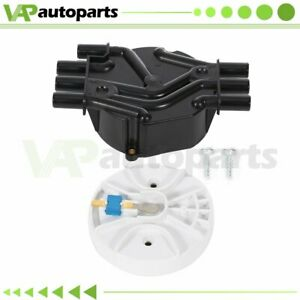 Ignition Distributor Cap And Rotor For Chevy K1500 Truck Cadillac Gmc Oldsmobile