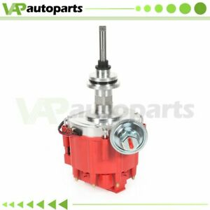Hei Distributor For Dodge Chrysler Mopar 318 340 360 Small Block With Red Cap