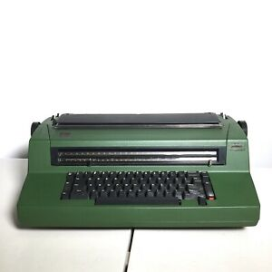 Ibm Correcting Selectric Iii 6705 Electric Typewriter Green Was 1980
