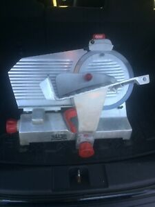 Berkel Electric Meat And Cheese Slicer Model 827a With 12 Inch Blade Used