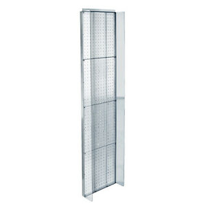 Plastic Pegboard Powerwing Display In Clear 14 X 60 Inches