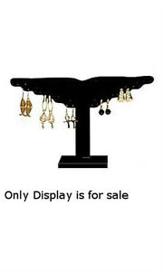 Winged Earring Displays In Black Velvet 12 W X 8 H Inches Case Of 10