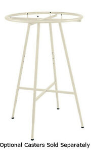 Round Clothing Display Rack In Ivory 48 72 H Inches