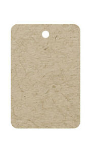 Unstrung Kraft Non perforated Blank Price Tag 1 25 W X 1 H Inches Box Of 500