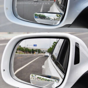 Universal 2pcs Auto 360 Wide Angle Convex Rear Side View Blind Spot Mirror Hot