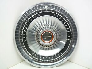 1966 66 Ford Thunderbird Tbird Convertible 15 Wheel Cover Hub Cap Good Cond