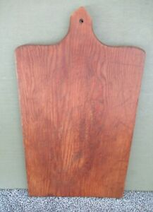 Vintage Bread Cutting Board Primitive Country 16 X 9 Pine Wood