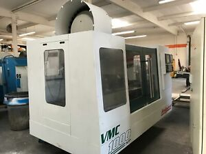 Bridgeport Vmc 1000 30 2001 Fanuc 18 im Cntrl 4th Axis Rotary Table 30 atc