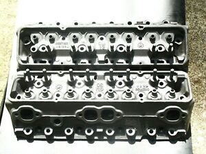1969 1970 Camaro 70 Z28 Sbc Chevy 3927186 Heads Ss 350 302 383 G108 K68 Repaired