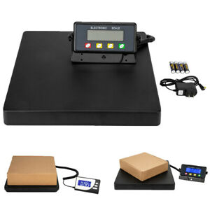 Postal Scale Digital Lcd Electronic Weight Capacity Of 661lbs 440lb Adapter
