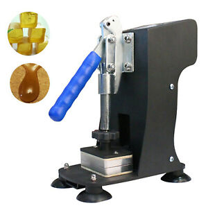 Black Rosin Heat Press Machine Hand Crank Dual Heated Plates 2 x3 Handheld 110v