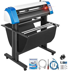 34 Vinyl Cutter Plotter Cutting Laser Plotter W table Contour Cut Graphics