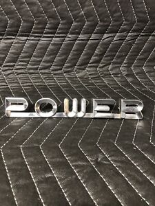 1961 68 Dodge Sweptline Powerwagon Emblem