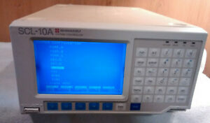 Shimadzu Scl 10a Vp System Controller Chromatography Hplc Fast Shipping