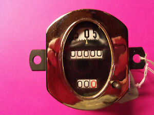 Model A Ford 28 30 Stewart Warner Oval Rebuild Speedometer Guaranteed Sale