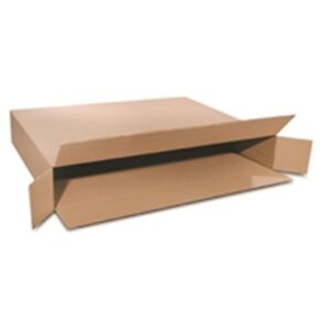 Picture Frame Shipping Boxes 24 X 5 X 24 Full Over Lapping Flaps Side Loading 25
