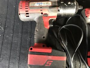 Snap On Ct8850 1 2 18v Impact 2 Batteries And Charger