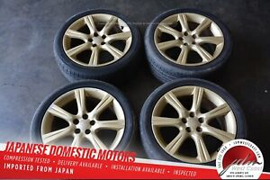Jdm 06 07 Subaru Impreza Oem Rims 17x7 55 Offset Set Of 4 5x100