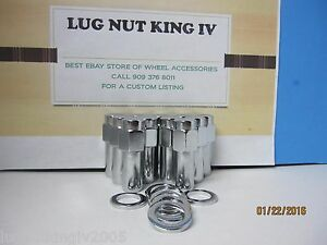 10 Closed 7 16 20 Lug Nuts 1 37 Shank 3 5 Width Center Line Auto Wheels 772