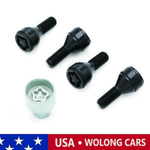 M12 1 5 Wheel Lock Anti Theft Bolt Set Fit Bmw 1 3 5 6 7 Z3 Z4 Z8 36136792849