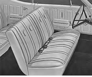 1968 Buick Skylark Gs 350 Front Bench Rear Seat Covers Legendary