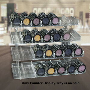 Four tier Modular Counter Display Tray With 28 Slots Lot Of 2