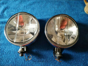 Bosch Chrome Driving Lights Lamps Vw Beetle Bus Porsche 356 Mercedes