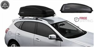 Suv Car Rooftop Roof Cargo Box Case Storage Uv Resistant Cover Carrier Rack 15cu